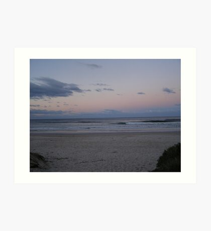 Evening Tranquility!   Evans Head, North Coast. N.S.W. Art Print