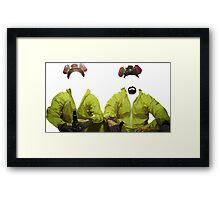 Walt & Jesse Framed Print