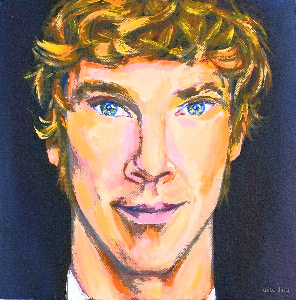 Benedict Cumberbatch by witchling