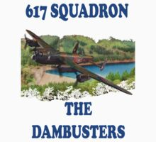 The Dambusters 617 Squadron Tee Shirt 1 by Colin J Williams Photography