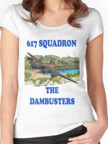 The Dambusters 617 Squadron Tee Shirt 1 Women's Fitted Scoop T-Shirt