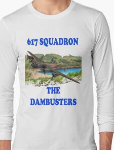 The Dambusters 617 Squadron Tee Shirt 1 Long Sleeve T-Shirt