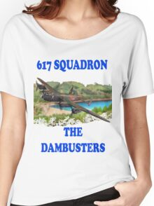 The Dambusters 617 Squadron Tee Shirt 1 Women's Relaxed Fit T-Shirt