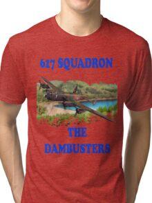 The Dambusters 617 Squadron Tee Shirt 1 Tri-blend T-Shirt
