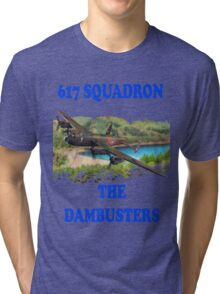 The Dambusters 617 Squadron Tee Shirt 1 Tri-blend T-Shirt