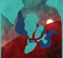 JLA: Martian Manhunter Minimalist Comics Justice League of America by markitzero
