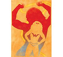 JLA: Wonder Woman Minimalist Comics Justice League of America Photographic Print
