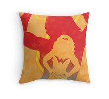JLA: Wonder Woman Minimalist Comics Justice League of America Throw Pillow