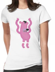 Falling from the sky. Womens Fitted T-Shirt