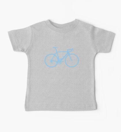 Bike Light Blue (Big) Baby Tee