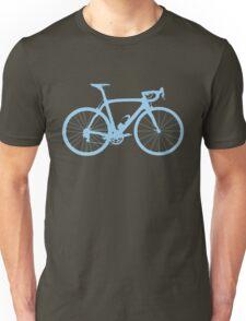 Bike Light Blue (Big) Unisex T-Shirt