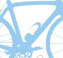 Bike Light Blue (Big) Sticker