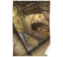 Mirror inside Seville Cathedral Poster