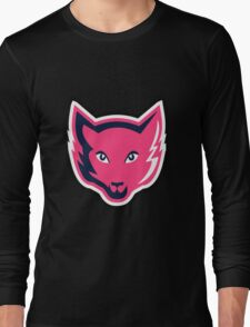 Pink Fox Long Sleeve T-Shirt