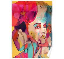 Lady Rainbow Poster