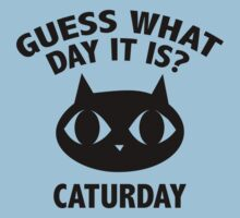 Guess What Day It Is? Caturday by BrightDesign