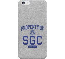 Property of SGC iPhone Case/Skin