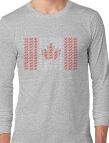 Bike Flag Canada (Small) Long Sleeve T-Shirt