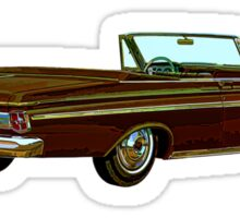 1963 Plymouth Sport Fury Sticker