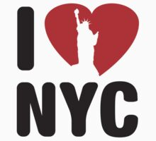 I Love NYC by BrightDesign