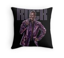 Chris Rock - Comic Timing Throw Pillow