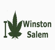 0165 I Love Winston-Salem by Ganjastan