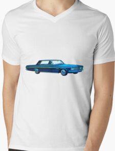 1963 Plymouth Sport Fury Mens V-Neck T-Shirt
