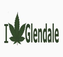 0167 I Love Glendale by Ganjastan