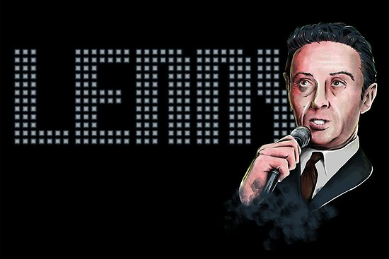 Lenny Bruce - Comic Timing by uberdoodles