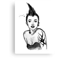 Punk Marilyn Canvas Print