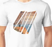 Autumn by the sea Unisex T-Shirt