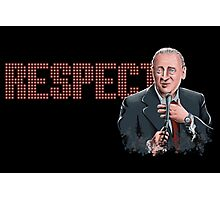 Respect for Rodney Dangerfield Photographic Print