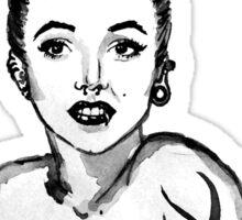 Punk Marilyn Sticker