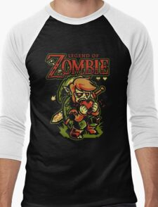 Legend of Zelda Zombie Men's Baseball ¾ T-Shirt