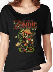 Legend of Zelda Zombie Women's Relaxed Fit T-Shirt