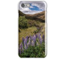 A Crown of Lupins iPhone Case/Skin
