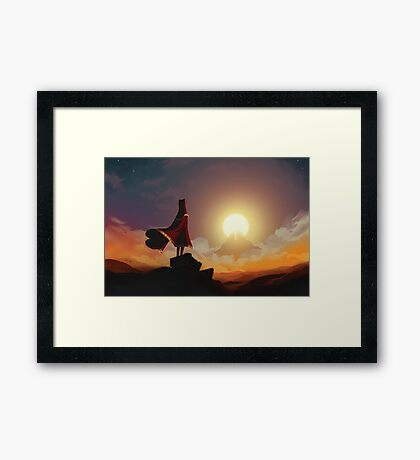 I was born for this. Framed Print