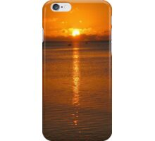 Aitutaki Sunset - Cook Islands iPhone Case/Skin
