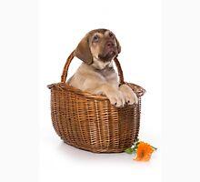 Funny brown puppy retriever Unisex T-Shirt