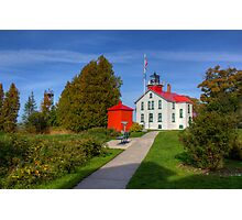 Grand Traverse Lighthouse Photographic Print