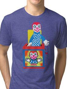Jack in the Music Box- Nostalgia Toys Tri-blend T-Shirt