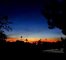 Mesa, Arizona Sunset II by Al Bourassa