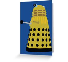 Enemies of the Doctor #3 - The Daleks Greeting Card