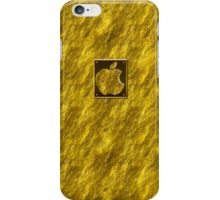 Real StoneGold Casses + Apple Logo iPhone Case/Skin