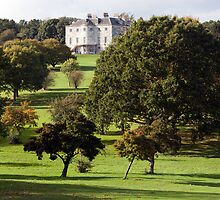 The Mansion  from the Golf Course.  by John Gaffen