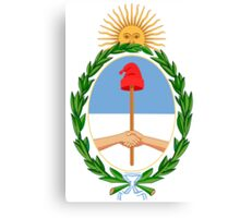 Argentina Coat of Arms  Canvas Print