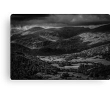 Shadows in the Valley Canvas Print
