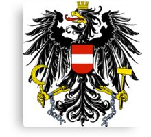 Austria Coat of Arms  Canvas Print