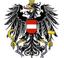 Austria Coat of Arms  Photographic Print