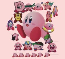 Collage O Kirby by FicSean